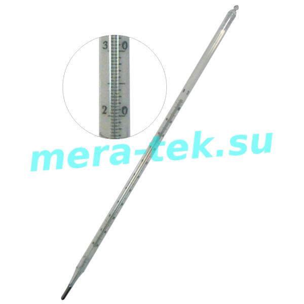 -5 №1-4 (-30...+300)°С Термометры ртутные стеклянные лабораторные