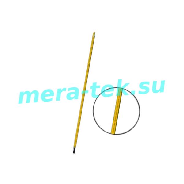 -13 (-37...+21)°С Термометр для определения содержания масла в твердых парафинах