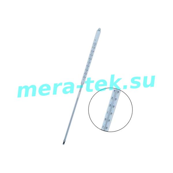 -6 (-30...+60)°С Термометр стеклянный ртутный для определения температуры застывания нефтепродуктов