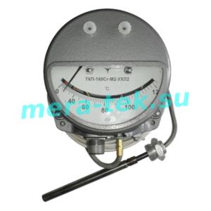 -160Сr-М3-УХЛ2 (0...+120)°С-2 термометр манометрический