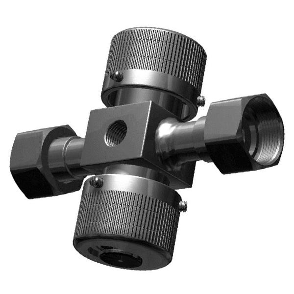КМ 1.00 PN1,6МПа Клапан 3-х ходовой стальной для манометра