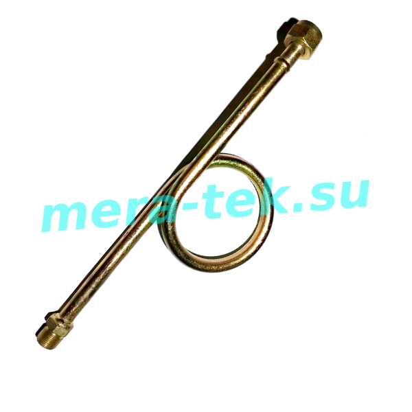 """225-МП-Ст.20 Трубка петлевая прямая G1/2""""(Н)-G1/2""""(Н)"""