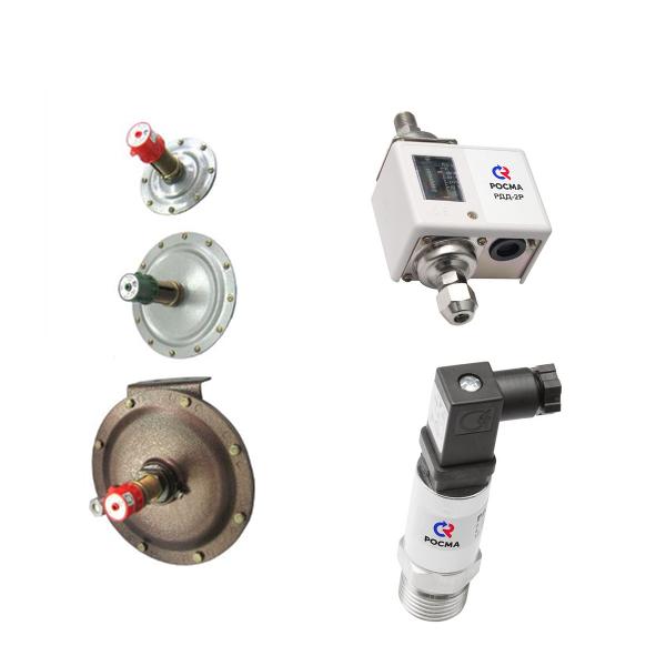 Реле давления, преобразователи давления, датчики-реле уровня, давления, напора, тяги