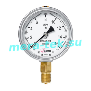 Мановакуумметр виброустойчивый ДА8008-ВУф -100...60 кПа кл.1,0 М20х1,5